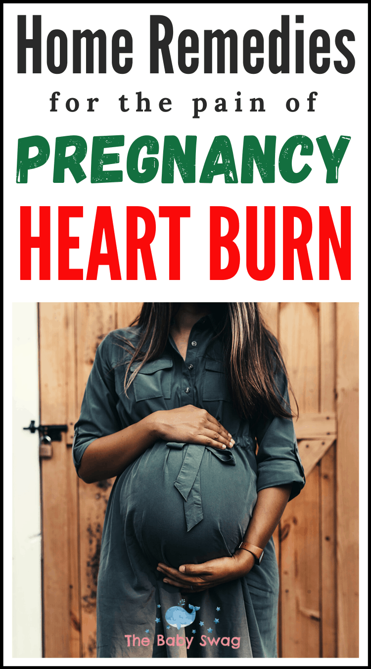 The Top Home Remedies for the Pain of Pregnancy Heartburn