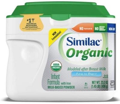 Similac Organic Infant Formula With Iron