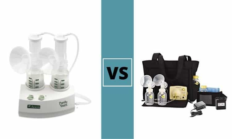 Ameda Purely Yours vs Medela Pump in Style