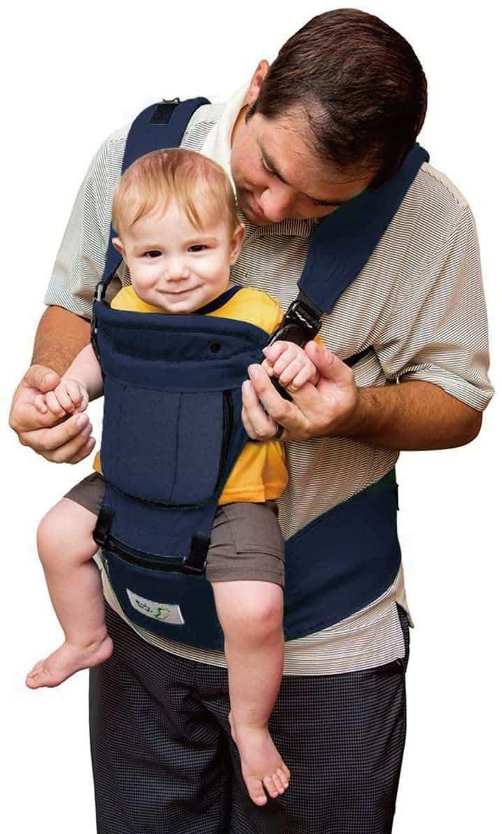 BabySteps 6-In-1 Ergonomic Baby Hip Seat Carrier