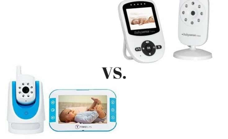 TimeFlys Baby Video Monitor vs. Babysense