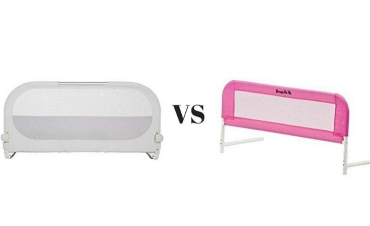 Munchkin Sleep Bed Rail vs. Dream On Me Mesh Security Crib Rail
