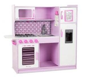 melissa & doug wooden chef's pretend play toy kitchen