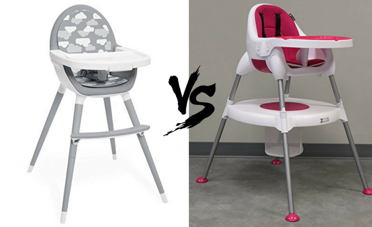 skip hop tuo vs zoe 5-in-1  sc 1 st  The Baby Swag & Skip Hop Tuo Convertible High Chair vs. ZOE 5-In-1 High Chair - The ...