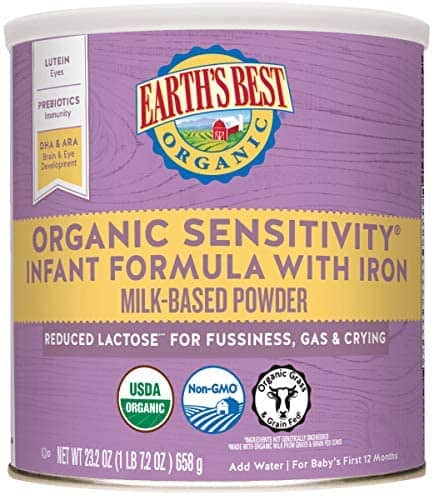 Earth's Best Organic Low Lactose
