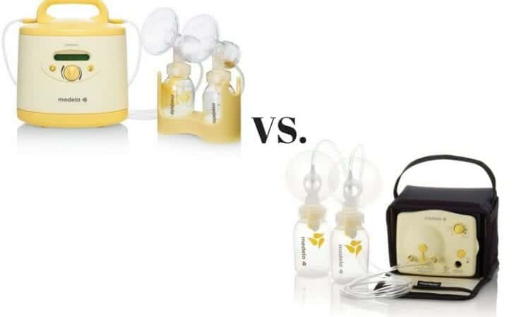 Medela Symphony Breast pump vs. Medela Pump-in-Style Advanced Breast pump