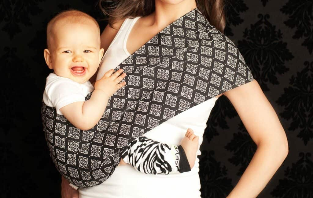 seven baby sling carrier