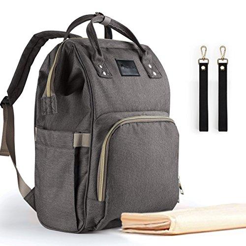 Essfeeni Baby Diaper Bag Backpack Waterproof Diaper Bag Large USB Mommy Diaper Bag Insulated Diaper Bag