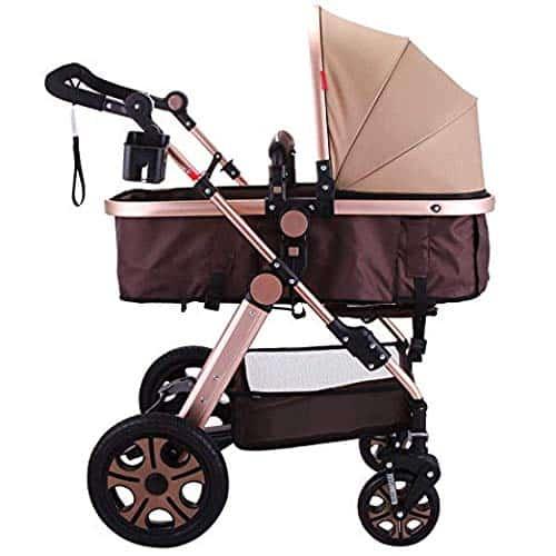 Happybuy Luxury Newborn Baby Stroller