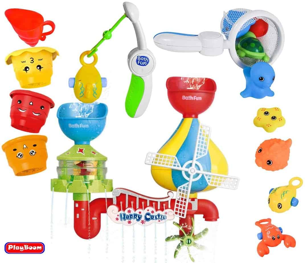 Playboom Baby Bath Toy Waterfall Water Station