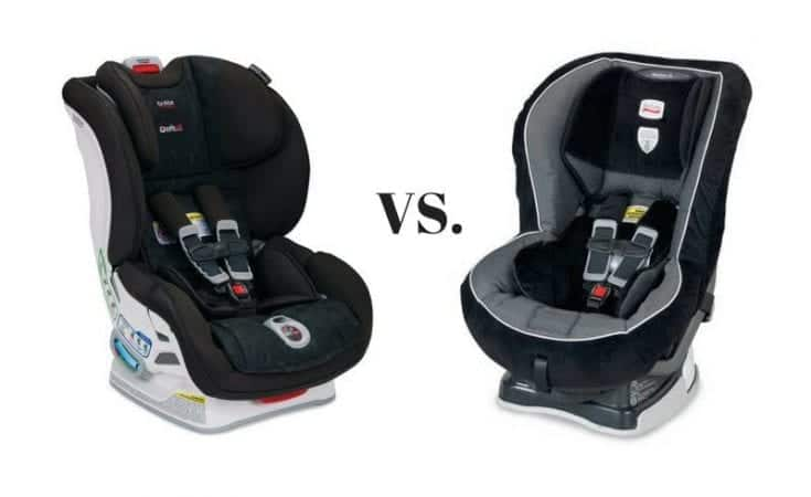 Britax Boulevard vs. Marathon Comparison