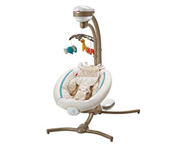 CHM84 Soothing Savanna Cradle 'n Swing,