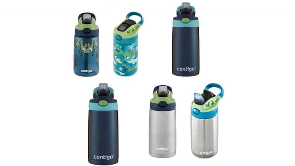 Contigo Kids Cleanable Water Bottles