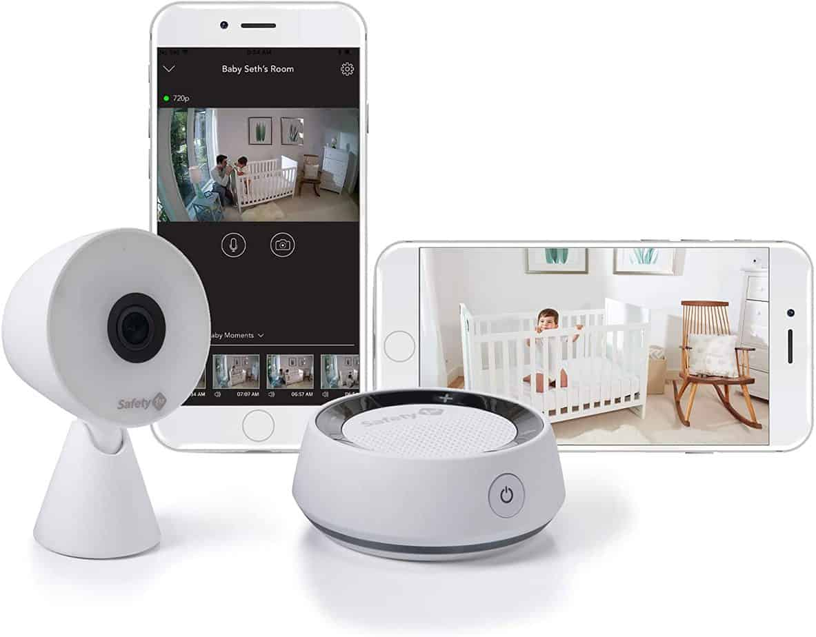 Safety 1st HD WiFi Streaming Baby Monitor