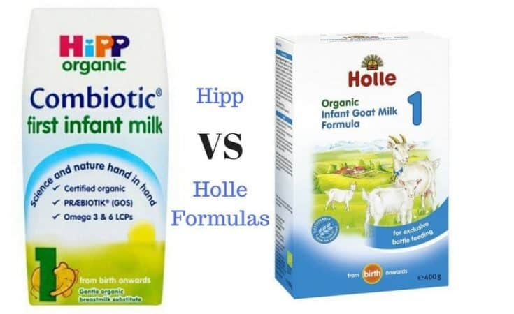 hipp vs holle formulas