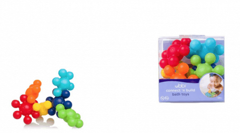 Ubbi Connecting Bath Toys