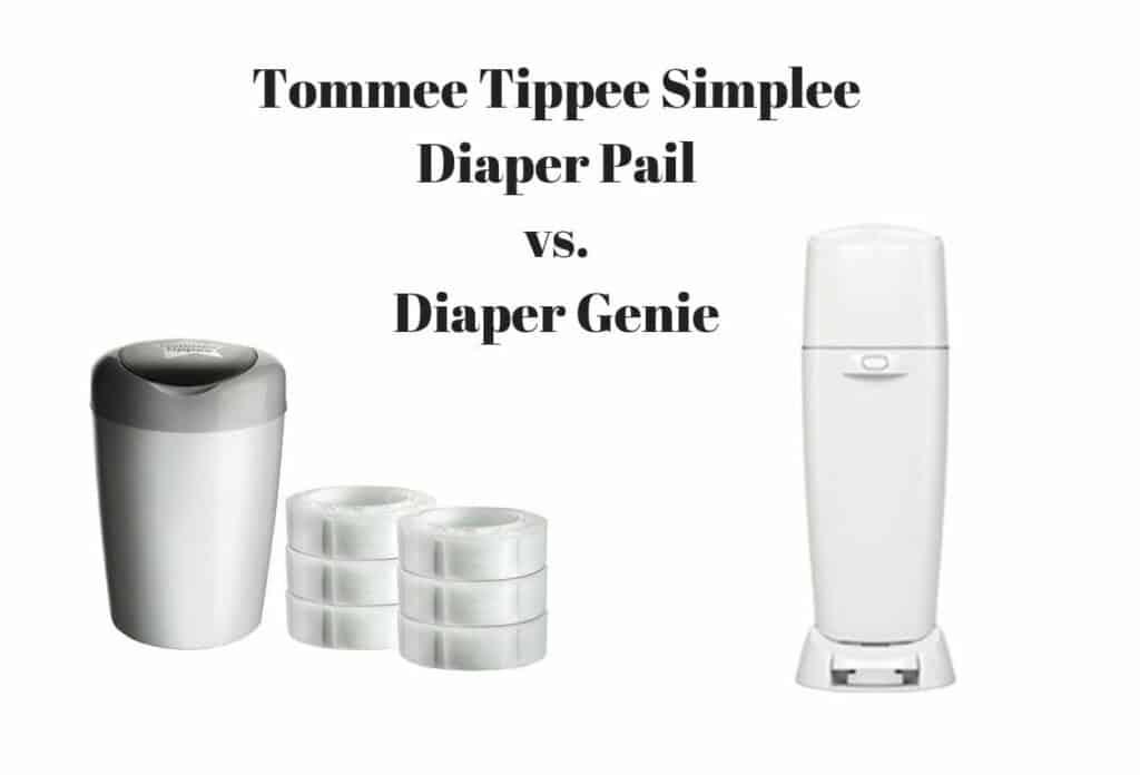 Tommee Tippee Simplee Diaper Pail vs. Diaper Genie