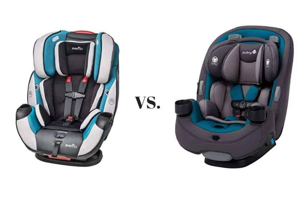 Car Seat Vs Safety 1st Grow And, Evenflo Vs Safety First Car Seats