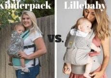 Kinderpack vs. Lillebaby Carrier