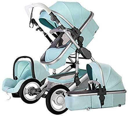 Echaprey Luxurious Anti-Shock Baby Stroller