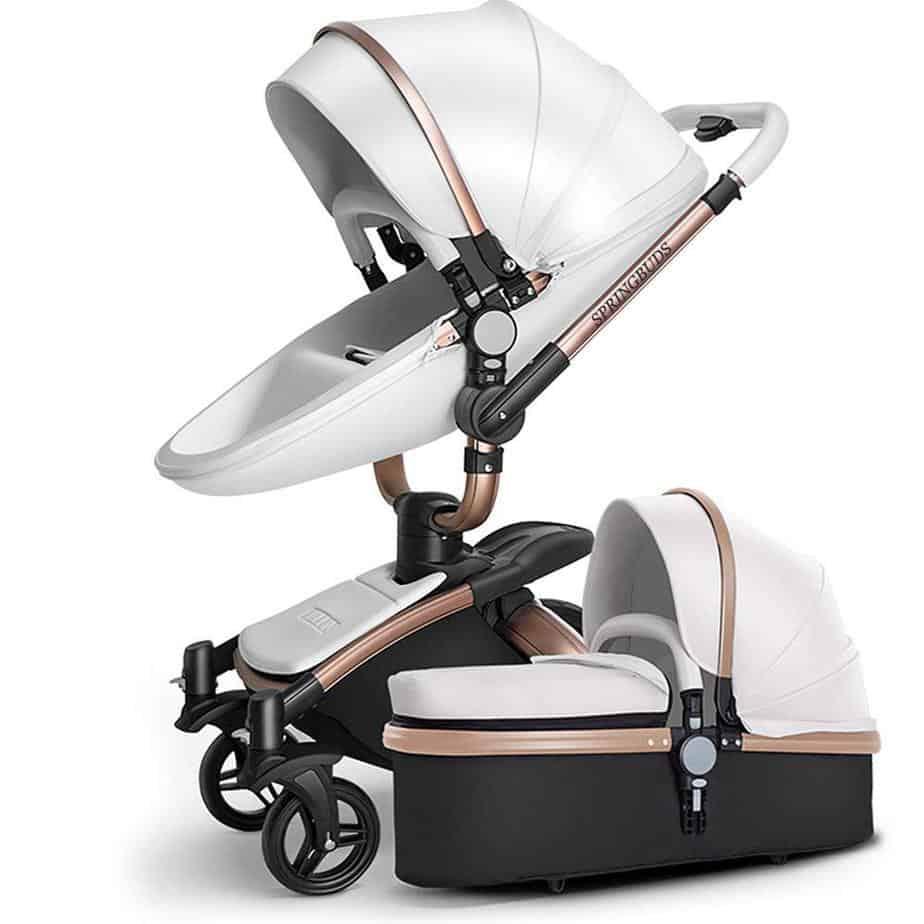 SpringBuds Pram Baby Stroller