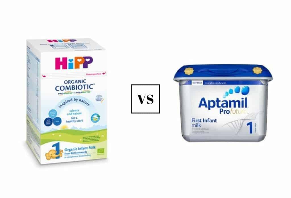Hipp vs Aptamil