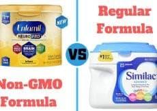 non-GMO vs regular formula