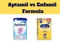 Aptamil vs Enfamil Formula