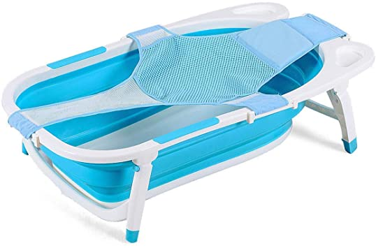 Baby Joy Baby Folding Bathtub