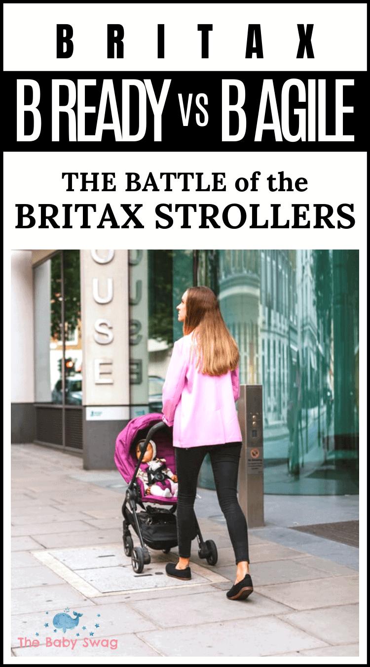 Britax B Ready vs B Agile: The Battle Of The Britax Strollers