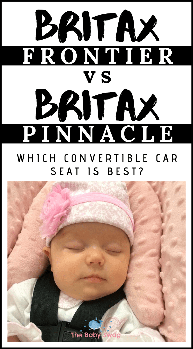Britax Frontier vs. Britax Pinnacle - Which Convertible Car Seat is Best?
