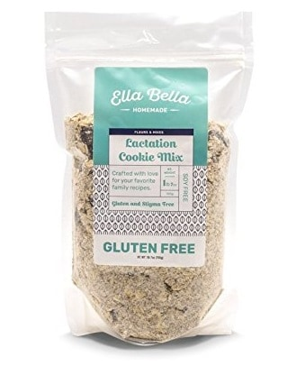 Ella Bella Gluten Free Lactation Cookie Mix