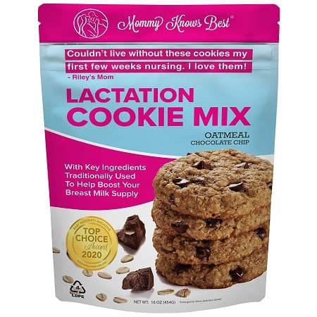 Mommy Knows Best Lactation Cookie Mix