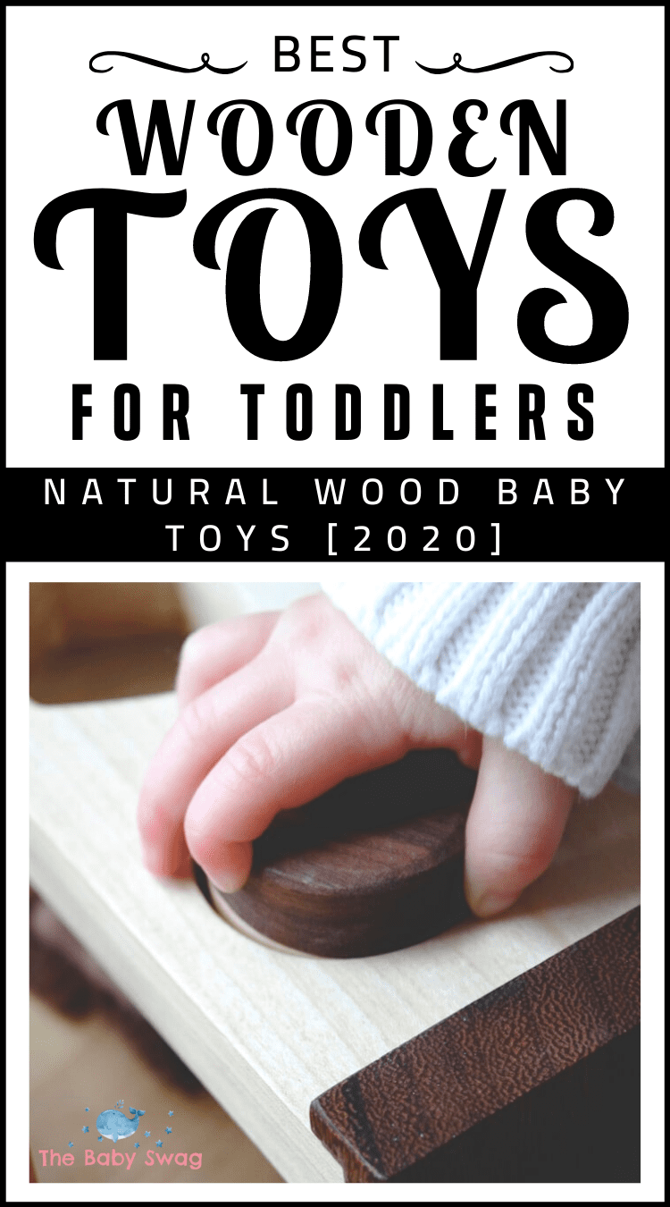 Best Wooden Toys for Toddlers: Natural Wood Baby Toys [2020]