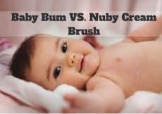 Baby Bum VS. NubyBrush