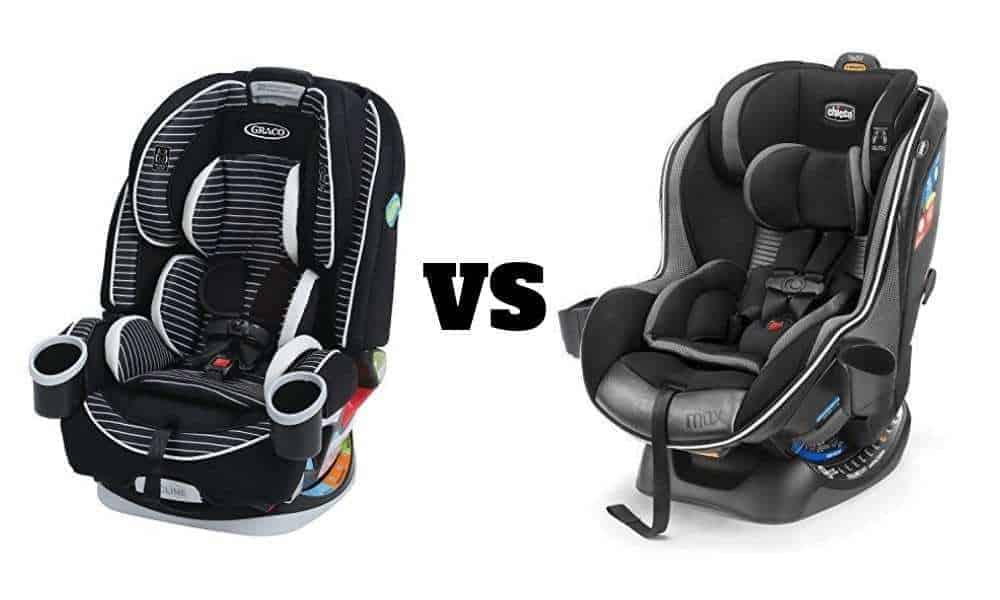 Graco 4ever vs Chicco NextFit Car Seat