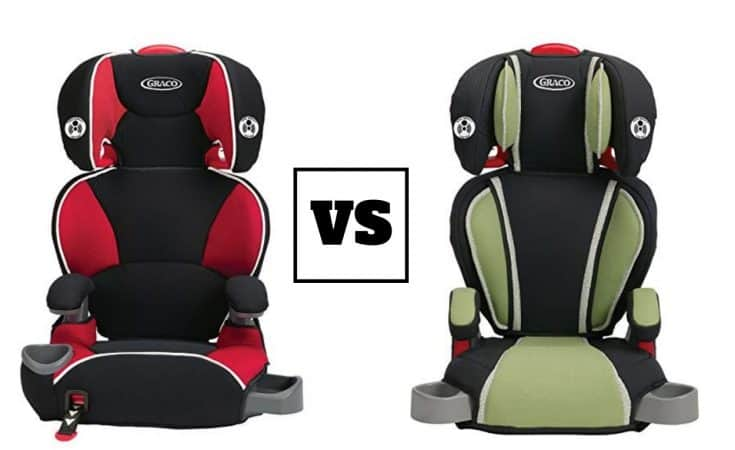 Graco Affix Youth Booster Seat vs Highback Turbobooster Car Seat