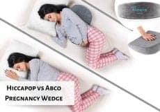 Hiccapop vs Abco Pregnancy Wedge