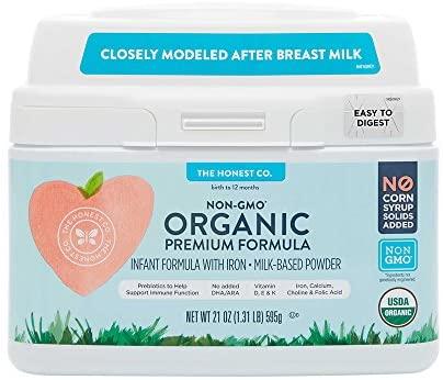 Honest Company Organic Premium Formula