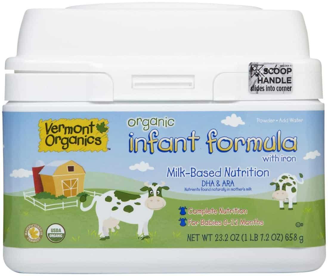 Vermont Organics Baby Formula
