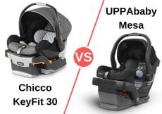 chicco keyfit 30 vs uppababy mesa