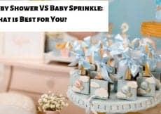 Baby Shower VS Baby Sprinkle