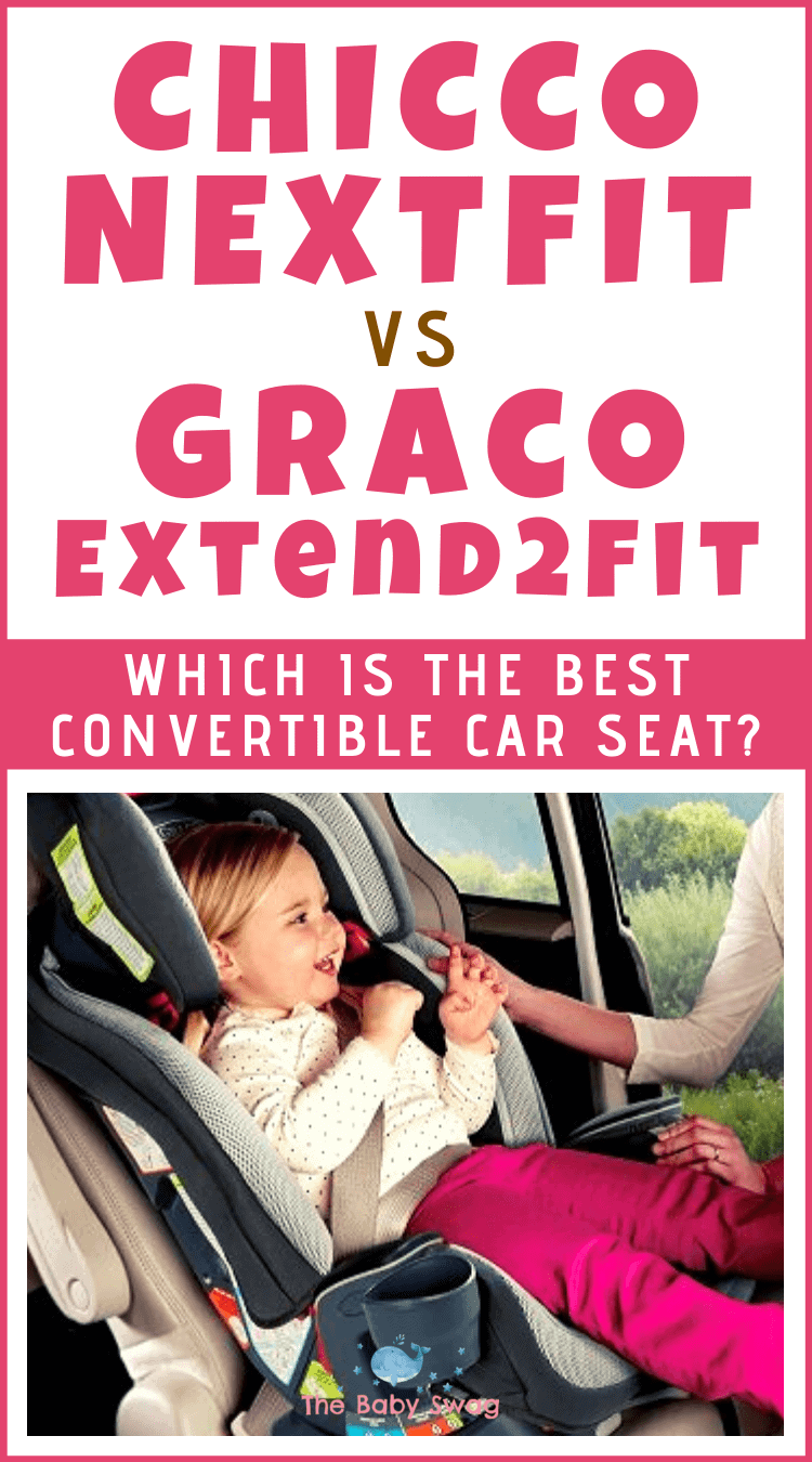 Chicco NextFit vs Graco Extend2Fit - Which is the Best Convertible Car Seat?