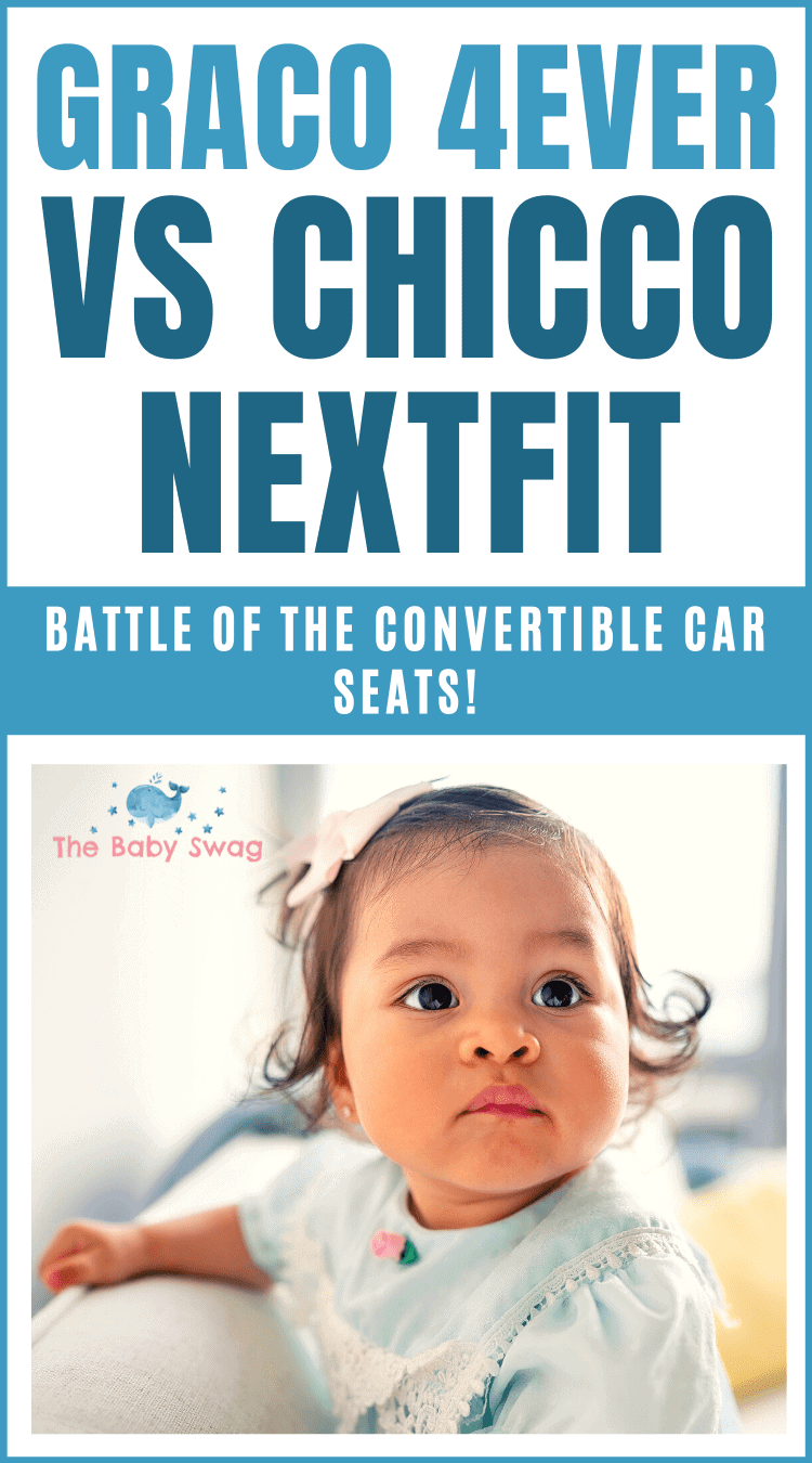 Graco 4ever vs Chicco NextFit - Battle of the Convertible Car Seats!
