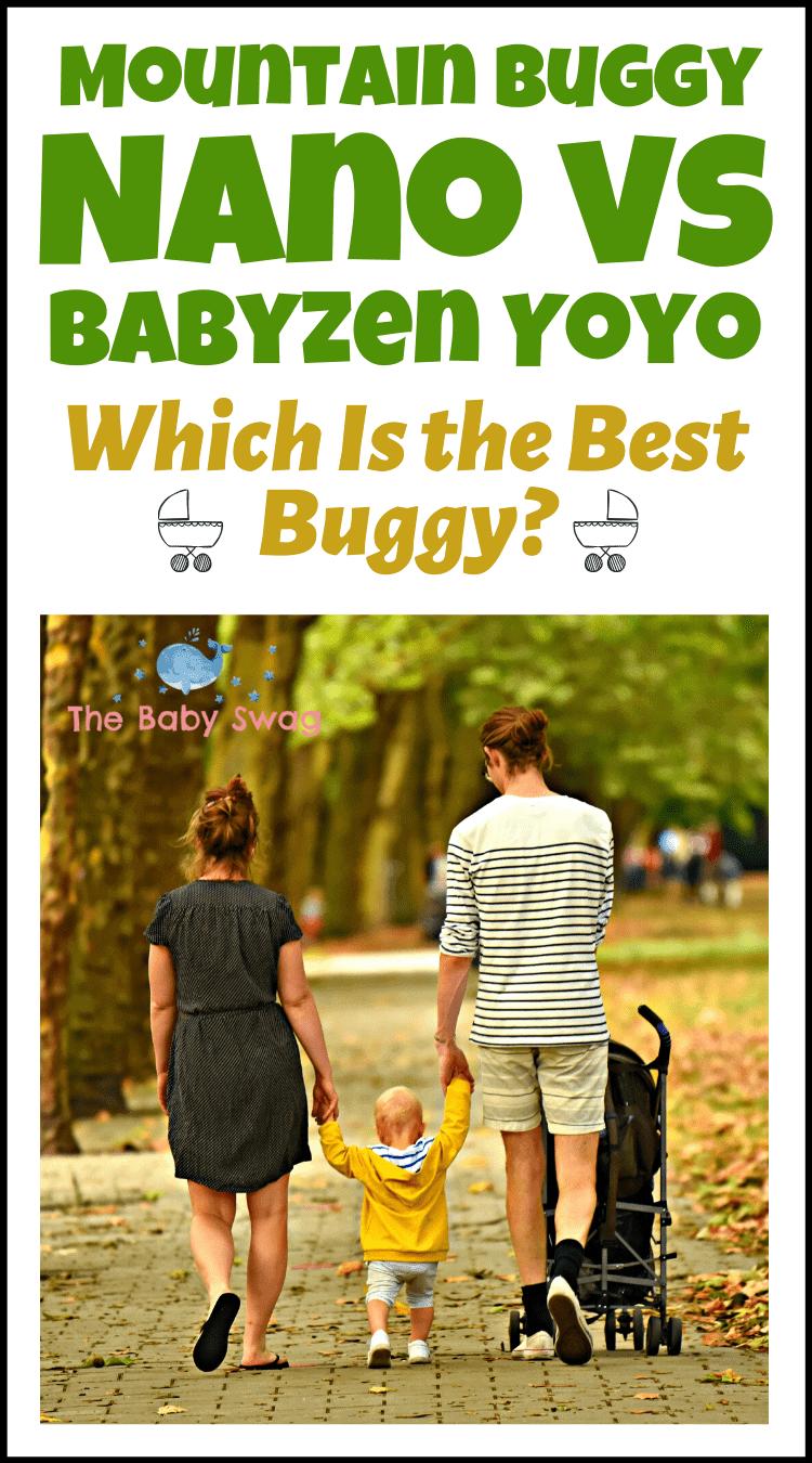 Mountain Buggy Nano vs Babyzen Yoyo - Which Is the Best Buggy?
