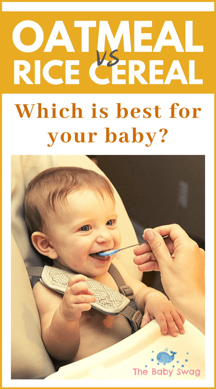 Oatmeal vs Rice Cereal - Which Is Best For Your Baby?