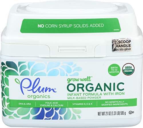 Organic Infant Formula by Plum Organics