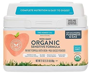Organic Non-GMO Infant Formula by The Honest Company