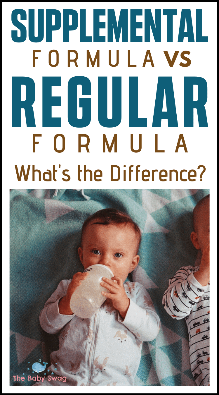 Supplemental Formula vs Regular Formula - What's the Difference?