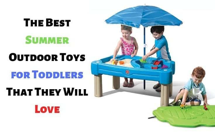 The Best Summer Outdoor Toys for Toddlers That They Will Love